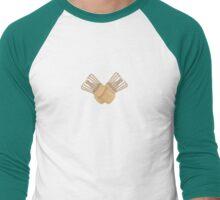 Whisk On  Men's Baseball ¾ T-Shirt
