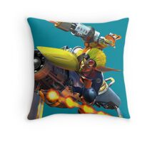 You came! You saw! You got your butt kicked Throw Pillow