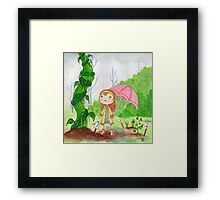 Magic Beans Framed Print