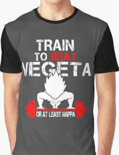Train to Beat Vegeta Graphic T-Shirt