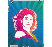 River Song Doctor Who Pop Art iPad Case/Skin