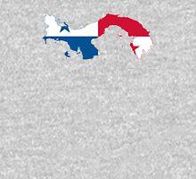 Flag Map of Panama  Unisex T-Shirt