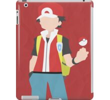 Red (Simplistic) iPad Case/Skin