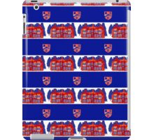 Stately Home Collage Pattern iPad Case/Skin