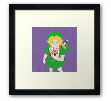 Young Link (Simplistic) Framed Print