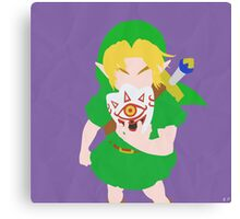 Young Link (Simplistic) Canvas Print