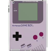 Nintendo Gameboy Drawing iPad Case/Skin