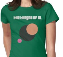 """The Thegns Of Io. - """"Moons"""" Womens Fitted T-Shirt"""