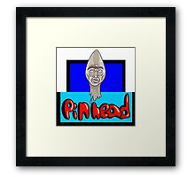 Pin head   Framed Print