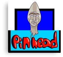 Pin head   Canvas Print