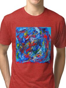 Winter In Russia Tri-blend T-Shirt