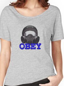 OBEY SWAT Women's Relaxed Fit T-Shirt