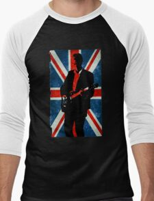 Twelve's Guitar, Hell Bent Doctor Who Men's Baseball ¾ T-Shirt