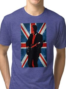 Twelve's Guitar, Hell Bent Doctor Who Tri-blend T-Shirt