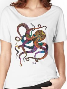 Electric Octopus Women's Relaxed Fit T-Shirt