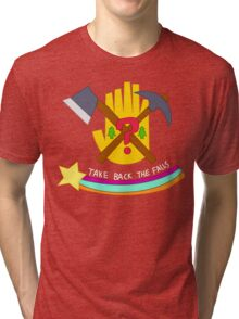 Take Back The Falls! Tri-blend T-Shirt