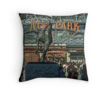 Giants Ballclub Throw Pillow