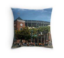 San Francisco Baseball Throw Pillow