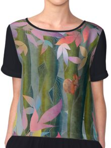 Autumn by a Waterfall Chiffon Top
