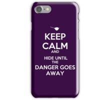 KEEP CALM, XANDER iPhone Case/Skin