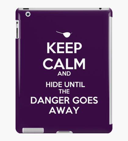 KEEP CALM, XANDER iPad Case/Skin