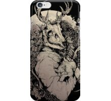 The Dragon's Daughter- Sepia  iPhone Case/Skin