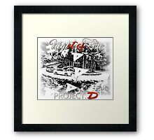 Night of Fire Framed Print