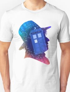 Tom Baker Fourth Doctor Silhouette  T-Shirt