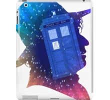 Tom Baker Fourth Doctor Silhouette  iPad Case/Skin