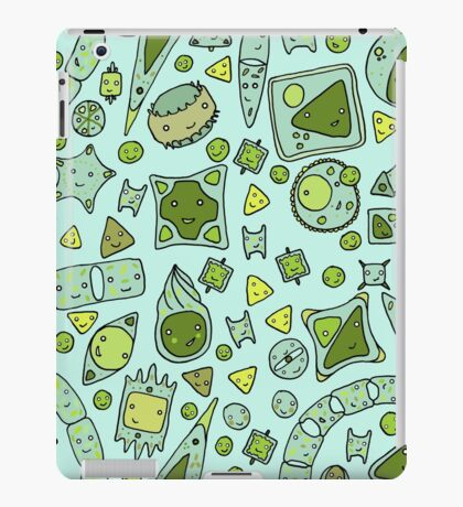 Tessellating Diatoms for skirts, duvets, notebooks, graphic tees etc iPad Case/Skin