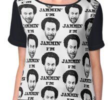 You got Jammed Chiffon Top