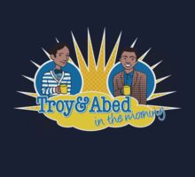 Troy and Abed in the Morning Baby Tee