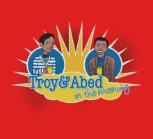 Troy and Abed in the Morning Kids Tee