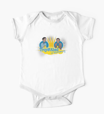 Troy and Abed in the Morning One Piece - Short Sleeve