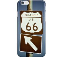 Get Your Kicks On Route 66 iPhone Case/Skin