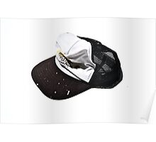 Staged Hats Poster