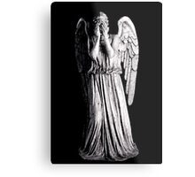 Weeping Angel - Don't Blink Metal Print