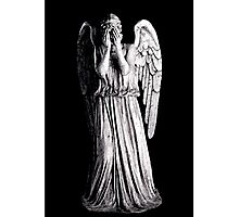 Weeping Angel - Don't Blink Photographic Print