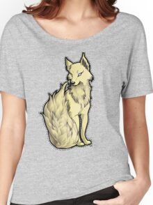Sunny Flame-Tail Wolf Women's Relaxed Fit T-Shirt