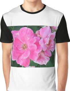 Light Pink Flowers Graphic T-Shirt