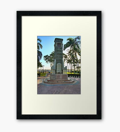 Anzac Memorial, Lest we forget.  HDR Framed Print