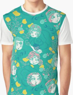 Folksy Flappers Graphic T-Shirt