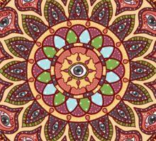 A Cosmic Flowering Sticker