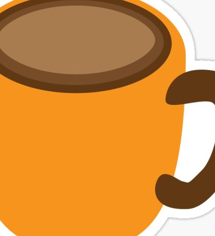 simple COFFEE cup Sticker