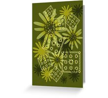 Yellow Daisy Greeting Card