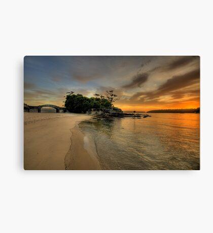 Balmoral Dreaming - Balmoral Beach - The HDR Series Canvas Print