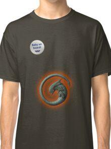 Alien on Board! Classic T-Shirt