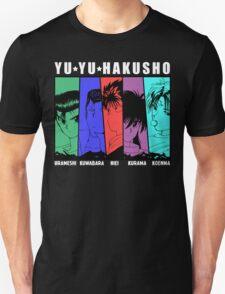 Yu Yu Hakusho - Urameshi, Kuwabara, Hiei, Kurama, Koenma T-Shirt