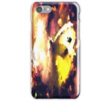 abstract butterfly insect flowers iPhone Case/Skin