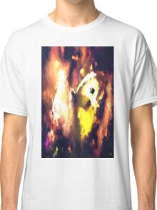abstract butterfly insect flowers Classic T-Shirt